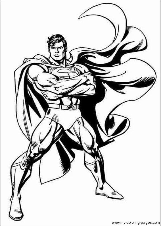 30 Coloriage Superman Meilleur De | Superhero coloring ...