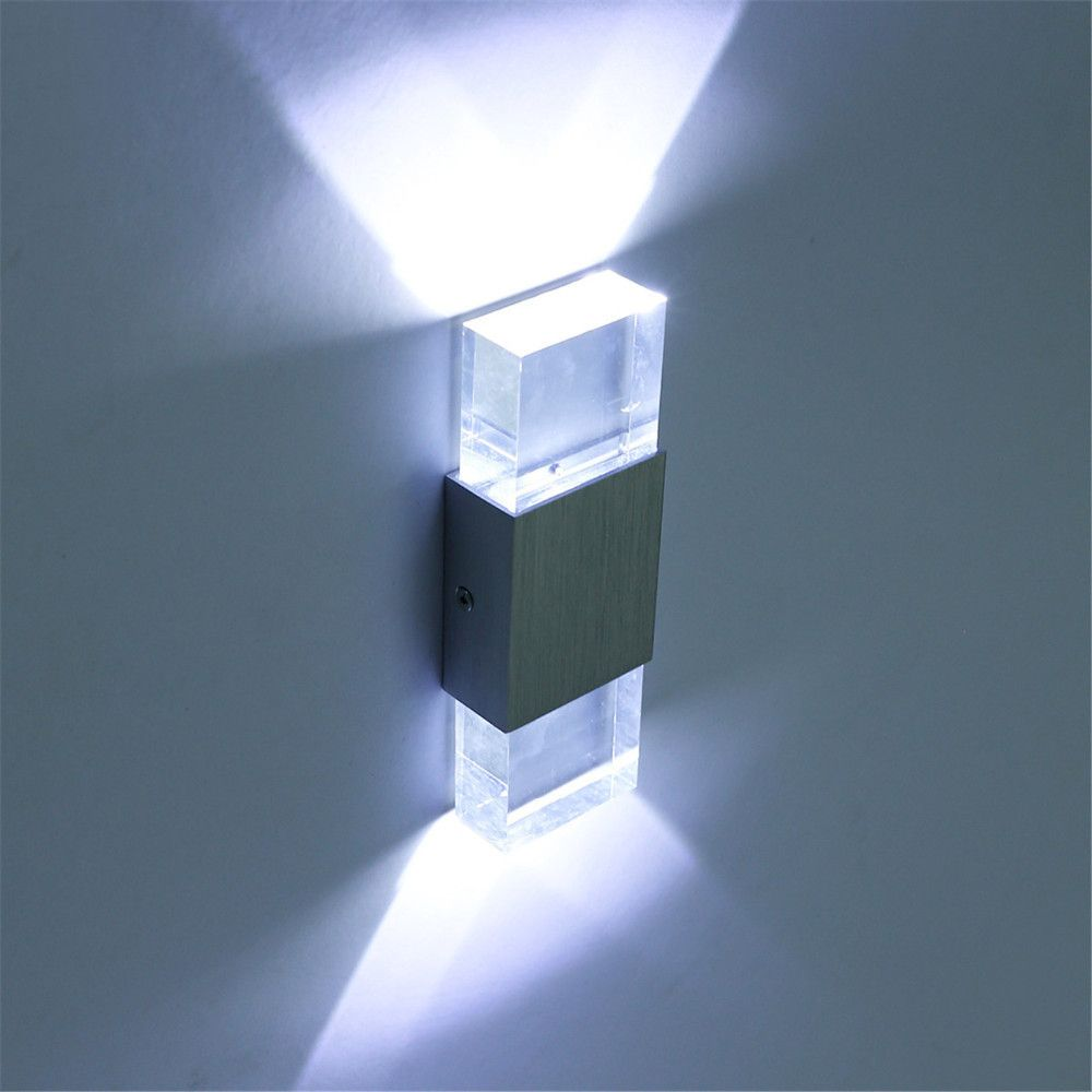 Bathroom Lighting Europe europe arrives in 7 days acrylic crystal 6w led wall lights