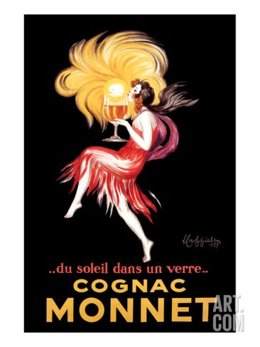 Cognac Monnet Art Print by Leonetto Cappiello at Art.com