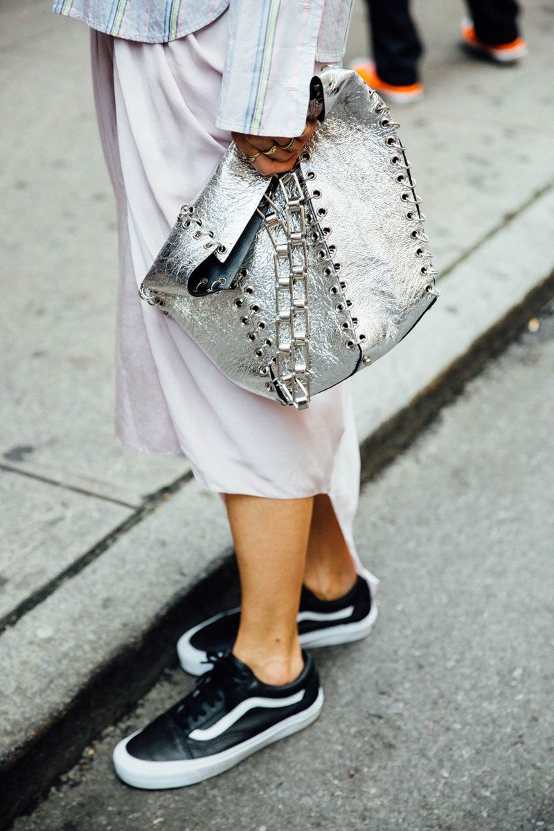 A Fashion Week Approved Way To Style Vans (The Edit