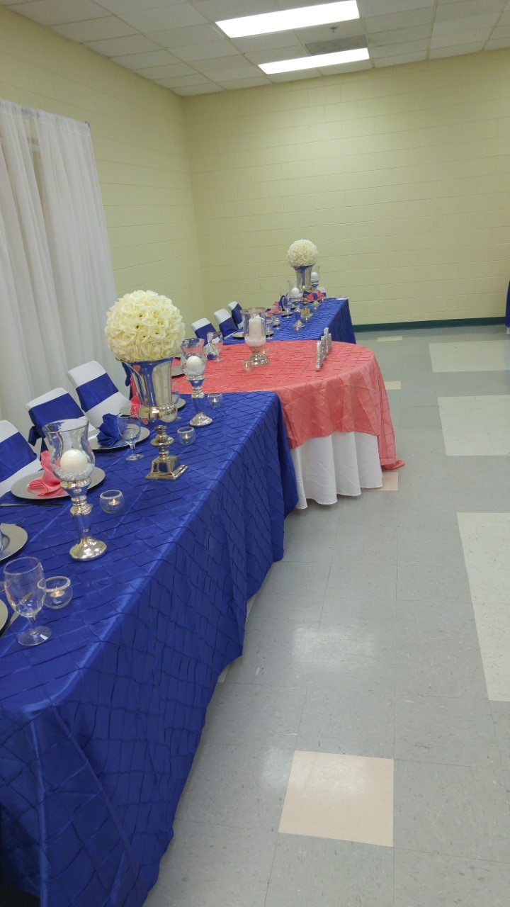Royal Blue Wedding Wedding Reception Ideas Royal Blue Wedding