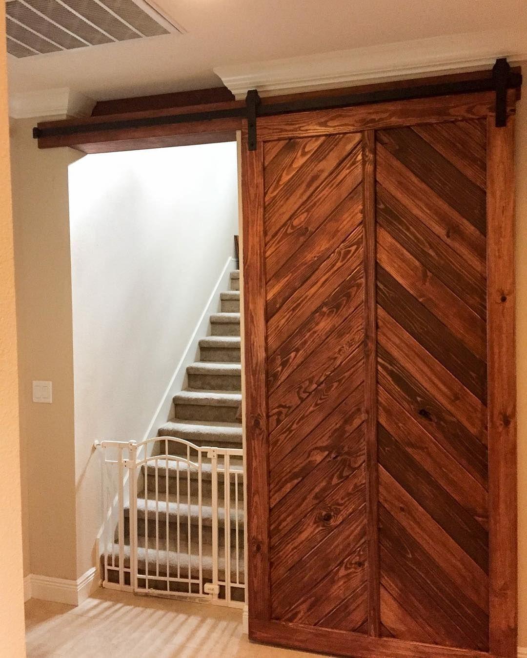 Custom Made Barn Doors For This Space Barndoors Barndoor