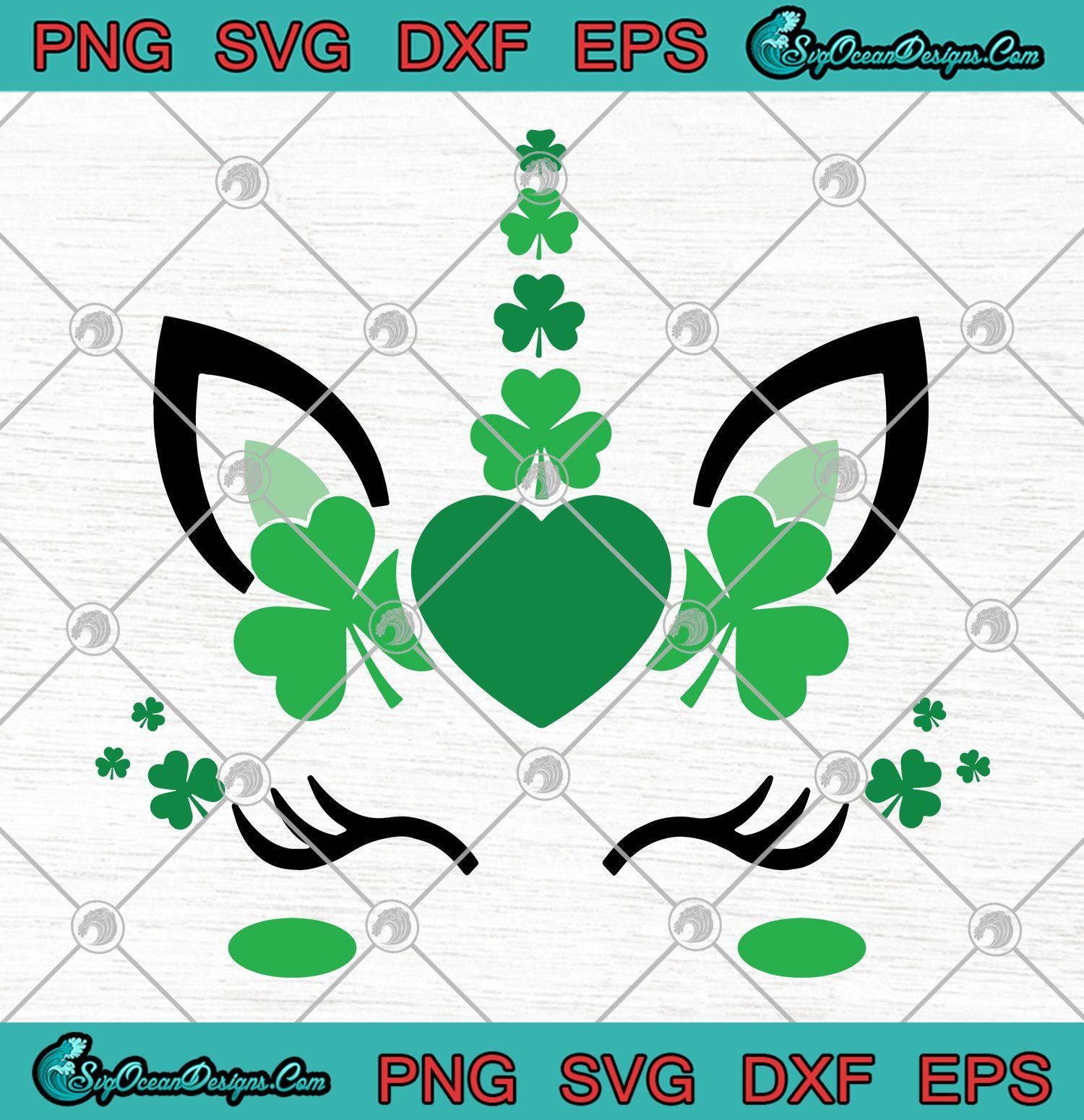 Download Unicorn Patrick's Day SVG PNG EPS DXF , Happy Patrick's ...