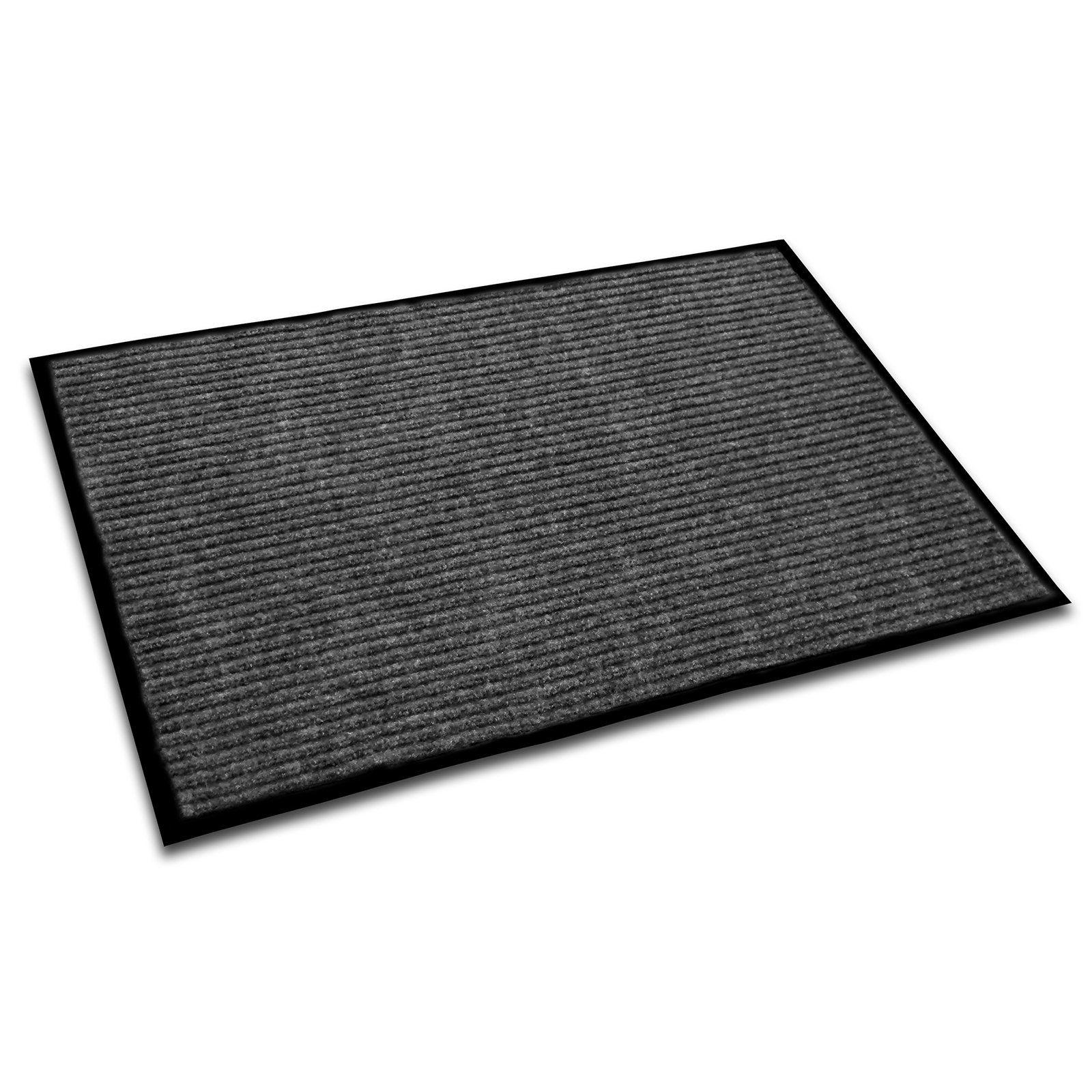 Floortex Ecotex Rib Entrance Mat Blue Indoor door mats