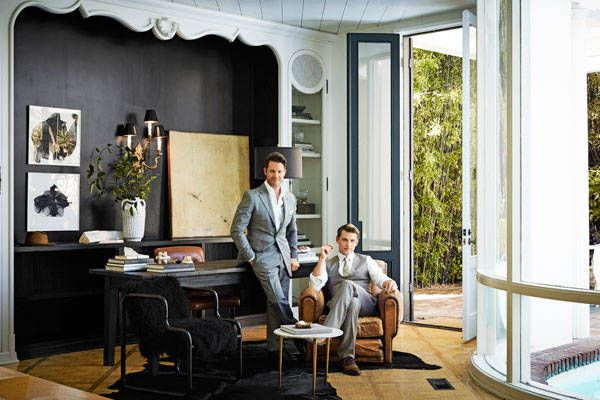 Hollywoods Chicest Lair Nate Berkus and Jeremiah Brent Jeremiah