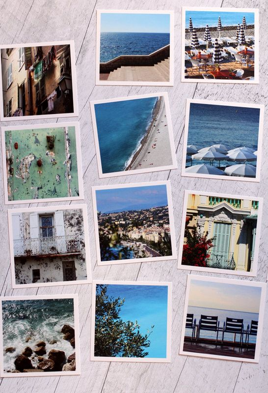 In this post, I present you with my new French Riviera collection, giving you titles and captions for each of the pieces and showing you styled photos of how they can work in your decor! You'll also find the link to shop these prints with or without frames. #Cotedazur #frenchriviera #wallart #colorfulhomedecor #southernfrance #travelposters #travelphotography #etsyshop