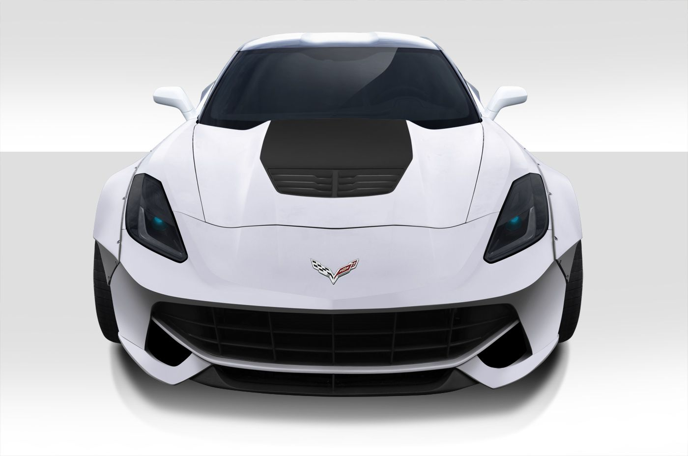 14 15 chevrolet corvette c7 duraflex gran veloce 8 piece wide body rh pinterest com