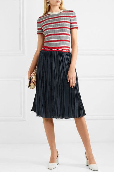 Striped Pliss Exclusive For Sale Clearance Popular fMVjT1D