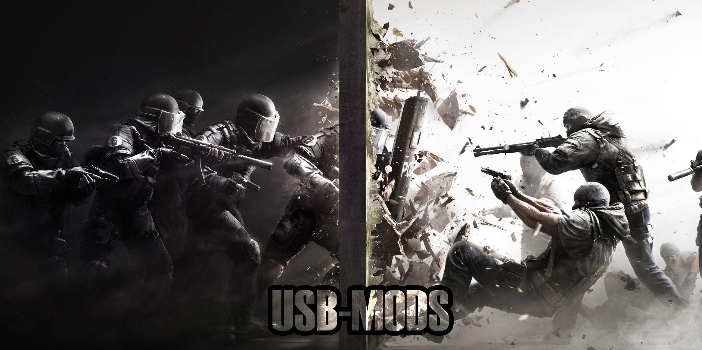 usb mods Tom clancy's rainbow six, Ps4 games, Rainbow