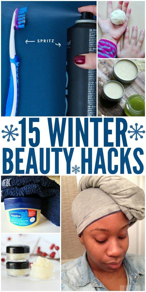 Winter Beauty Hacks Every Girl Needs to Know -   13 makeup DIY hacks ideas