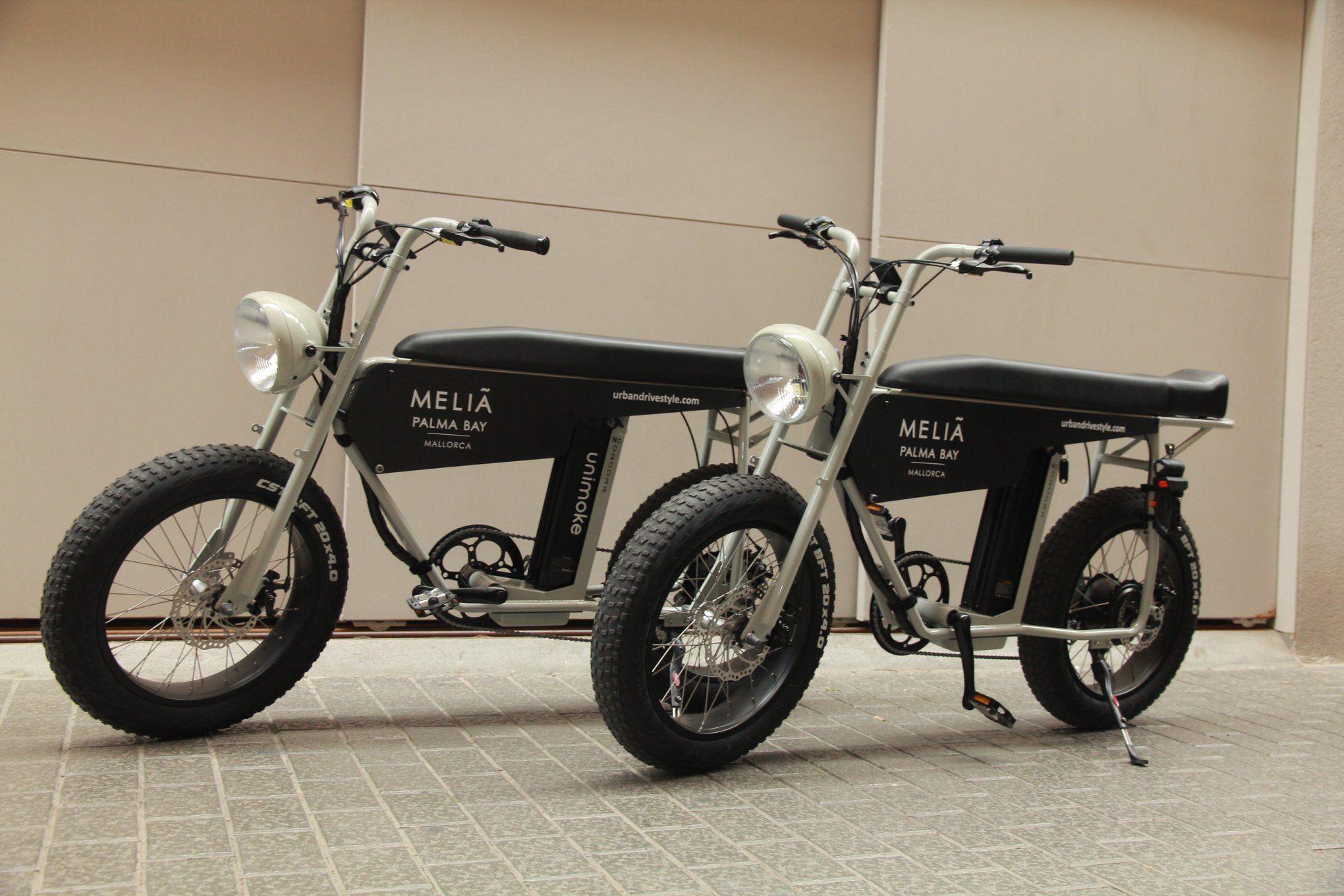 Unimoke The Perfect Electric Bike For Bike Rental And E Bike Sharing Electric Bike Electric Moped Moped