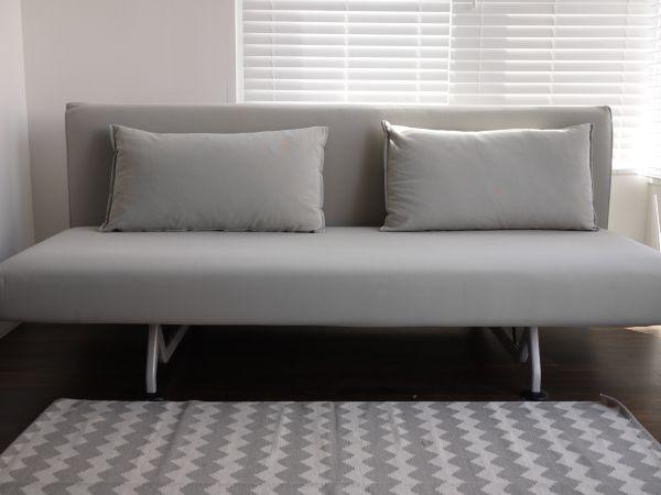 sofa sleeper san francisco oregon leather design within reach dwr sliding in linen 2650 http furnishlyst com listings 344328