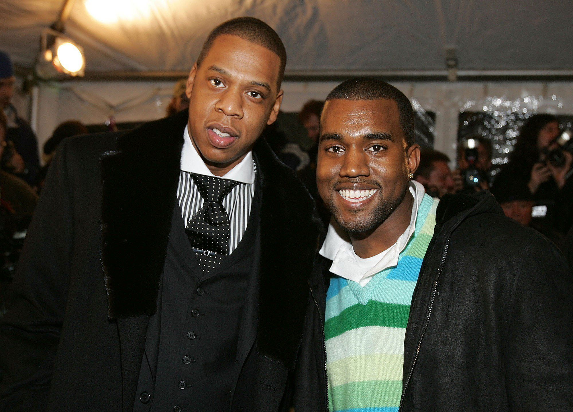 Jay Z And Kanye West Party Together At Diddy S Birthday Bash Despite Years Of Public Beefing Jay Z Kanye West Kanye