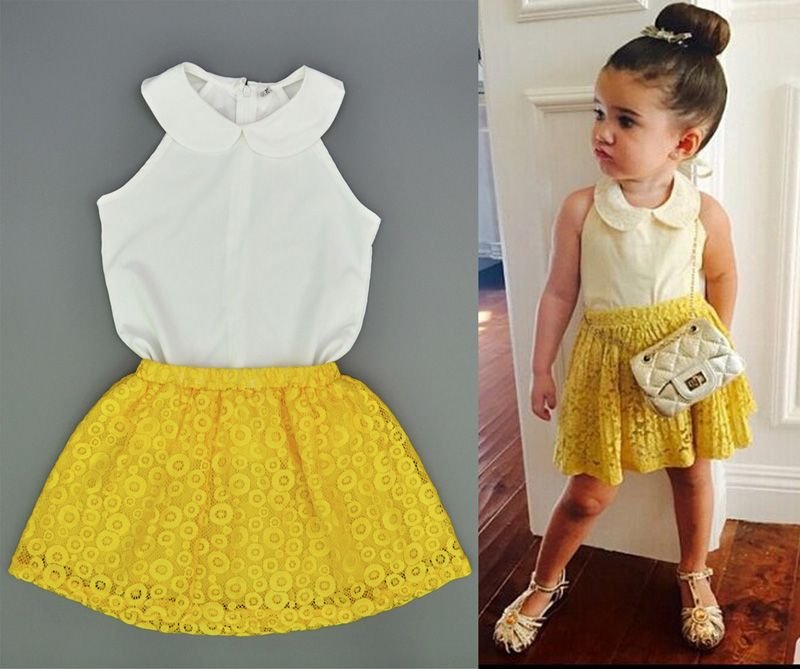 Sun Flower Baby Doll Clothes  In Cheap