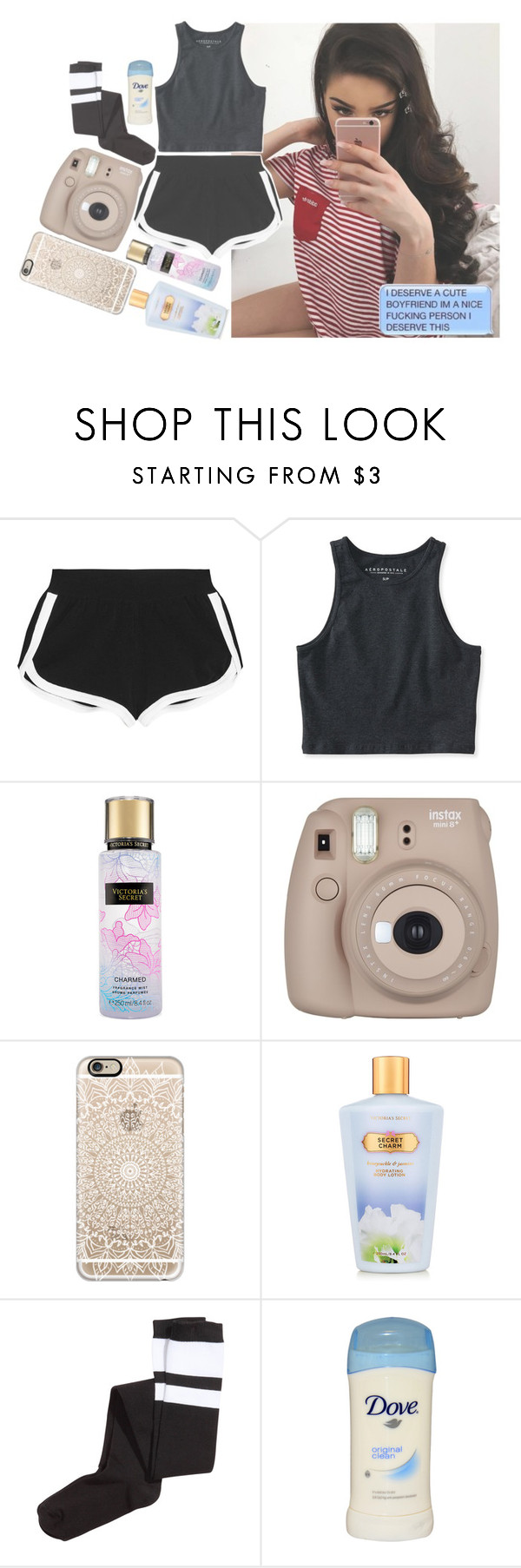 """""""08:23 pm;; OOTN [ The D )"""" by amazing-an0ns-23 ❤ liked on Polyvore featuring Fendi, Aéropostale, Casetify, Victoria's Secret and H&M"""