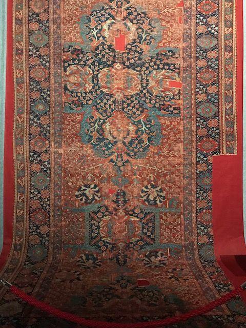 Oushak Carpet From Western Turkey Age