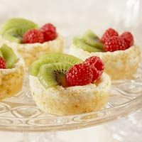 Mini Cheesecakes with Fruit
