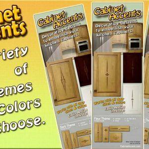 Kitchen Cabinet Door Decals