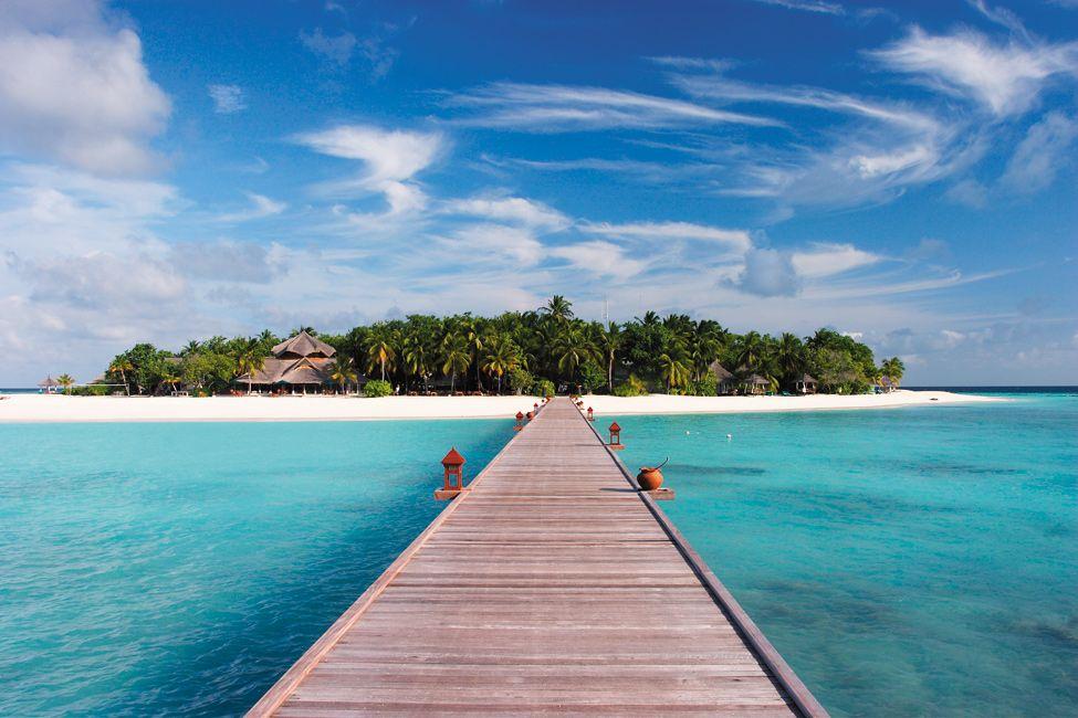Отель Banyan Tree Vabbinfaru на Мальдивах