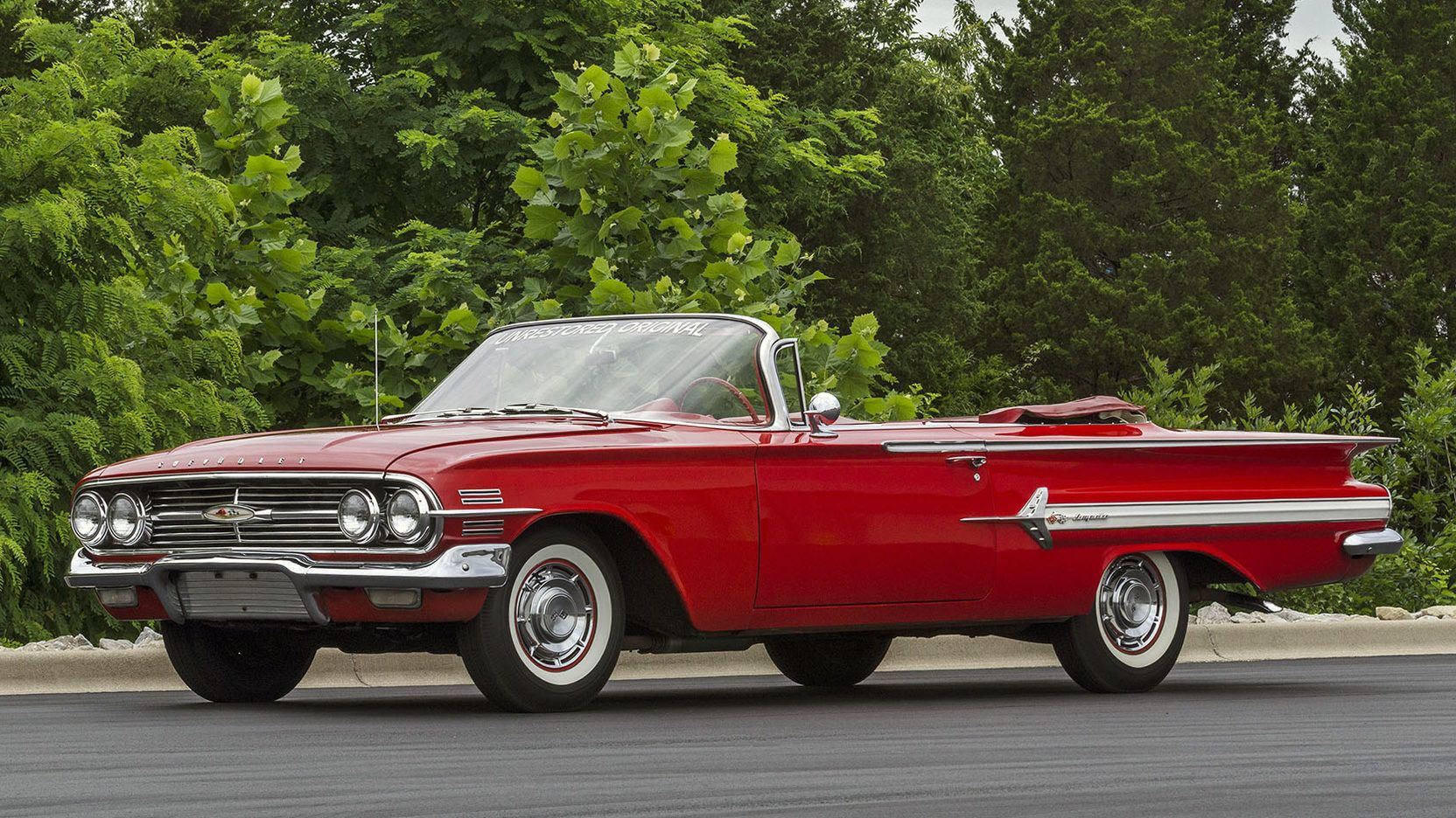 1960 Chevrolet Impala Convertible Presented As Lot T172 At