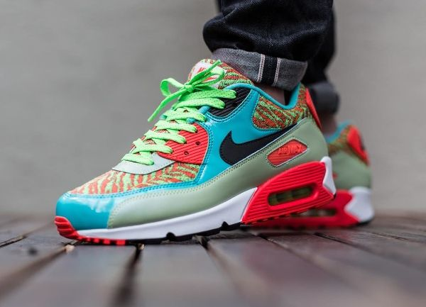 newest 332dd 8abd1 Nike Air Max 90 Flash Lime Hyper -Chubster favourite ! - Coup de cœur du  Chubster ! - shoes for men - chaussures pour homme -  chubster  barnab   kicks ...