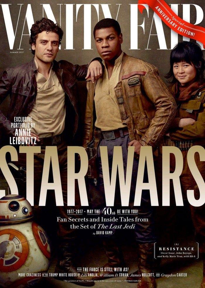 Star Wars, Vanity Fair cover.