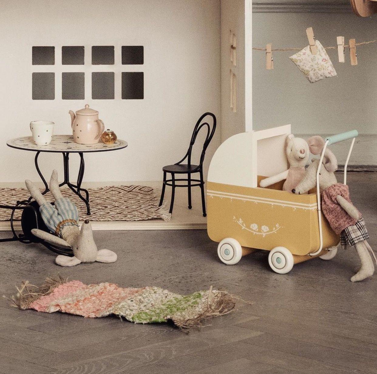 Maileg Toy Pram Maileg, Pram toys, Soft furnishings