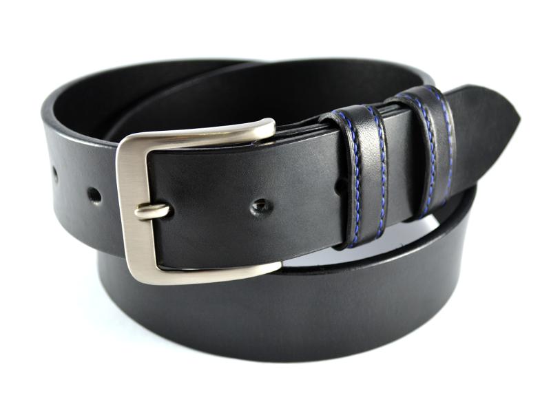 Explora Cinturón De Cuero ¡y mucho más!  belt pasek opasek cerny black handmade 10 small 267e45ae7945