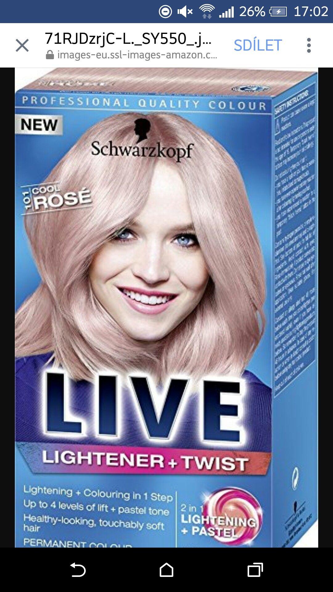 Pin By Petra Senkarova On Vlasky Live Hair Colour Schwarzkopf Hair Color Hair Dye Colors