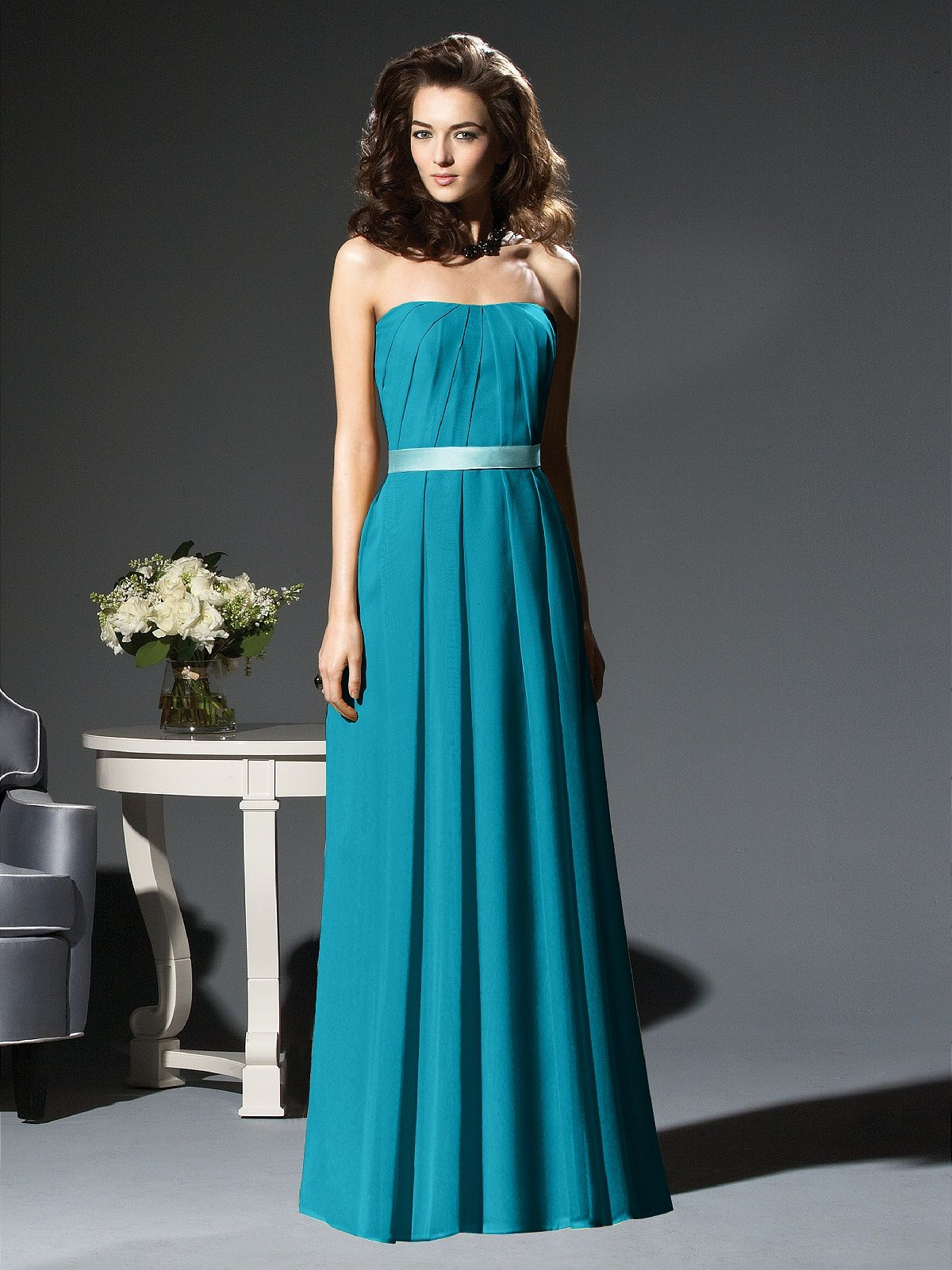 Dessy collection style 2810 oasisspa wedding ideas cheap marigold knee length strapless inverted v pleat detail chiffon bridesmaid dress is on sale buy marigold knee length strapless inverted v pleat detail ombrellifo Gallery