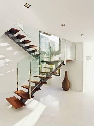 Resultado de imagem para escaleras modernas Branco Pinterest - escaleras modernas