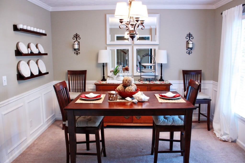 House Tour Dining Room PanelingDining