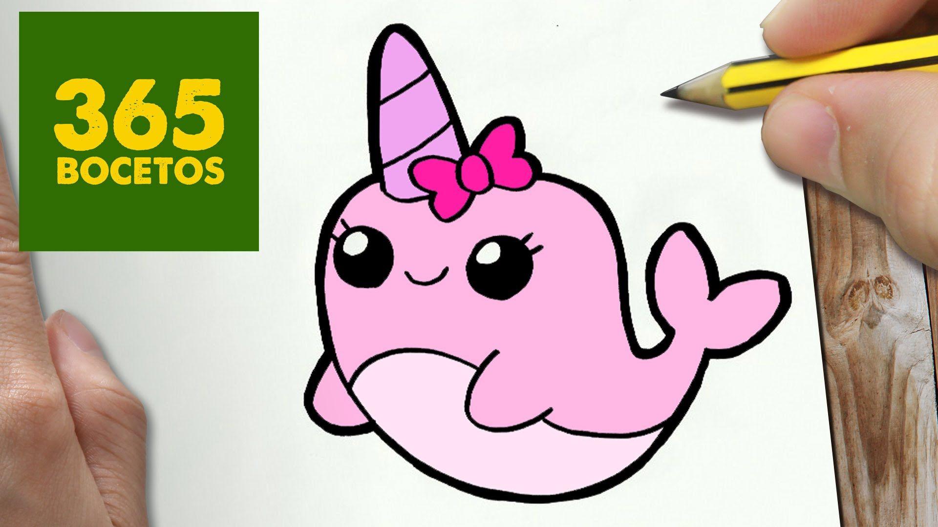 Como Dibujar Narval Kawaii Paso A Paso Dibujos Kawaii Faciles How To Draw A Narwhal Youtube Dibujos Kawaii Dibujos Kawaii Faciles Dibujos Kawaii 365