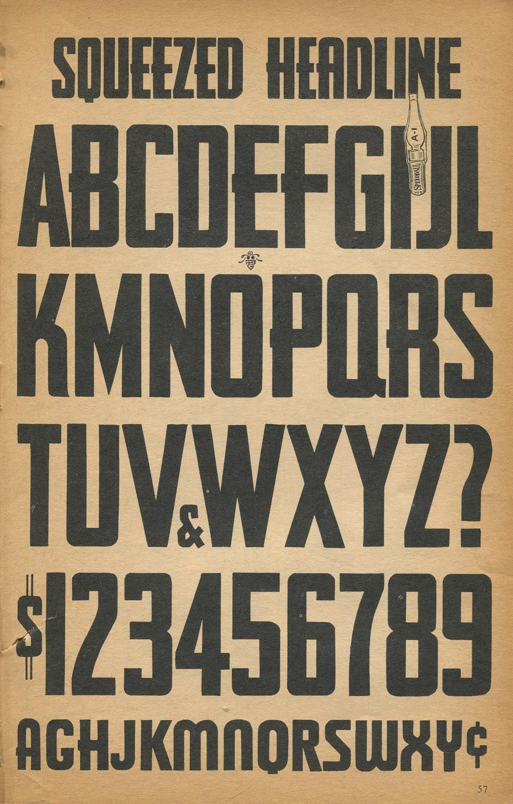 Like A Wwii Propoganda Poster Lettering Alphabet Sign Painting Lettering Lettering Tutorial