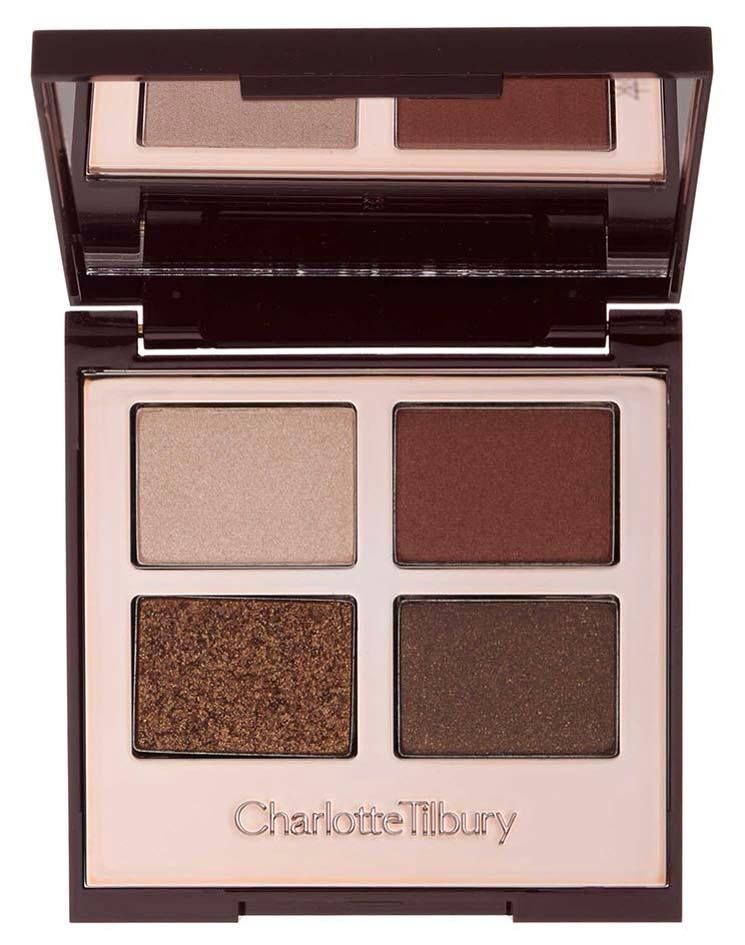 Eyeshadow kit for autumn make up look.