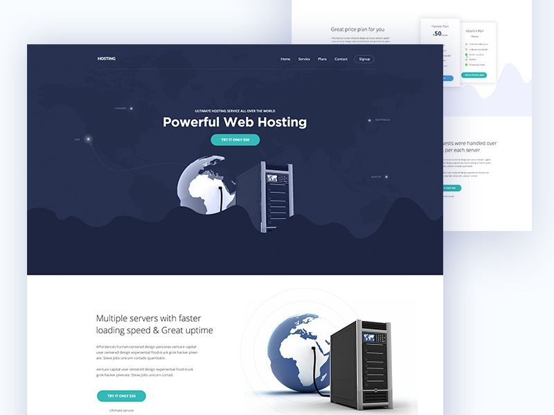 11+ Free landing page hosting information