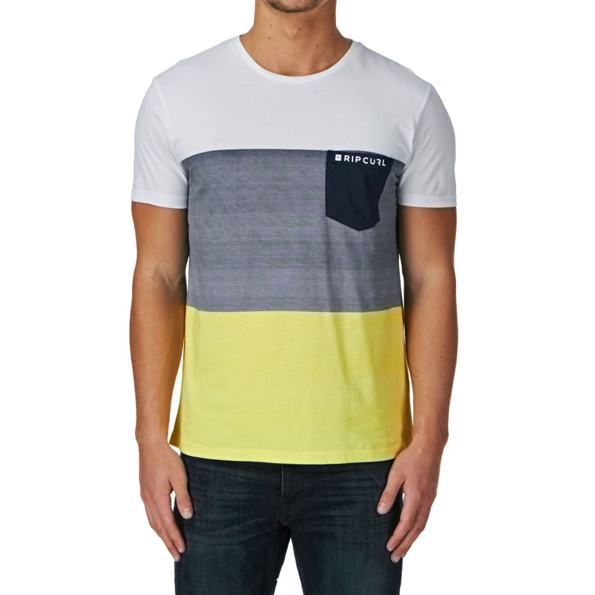 Rip Curl Refuse T-shirt - Optical White