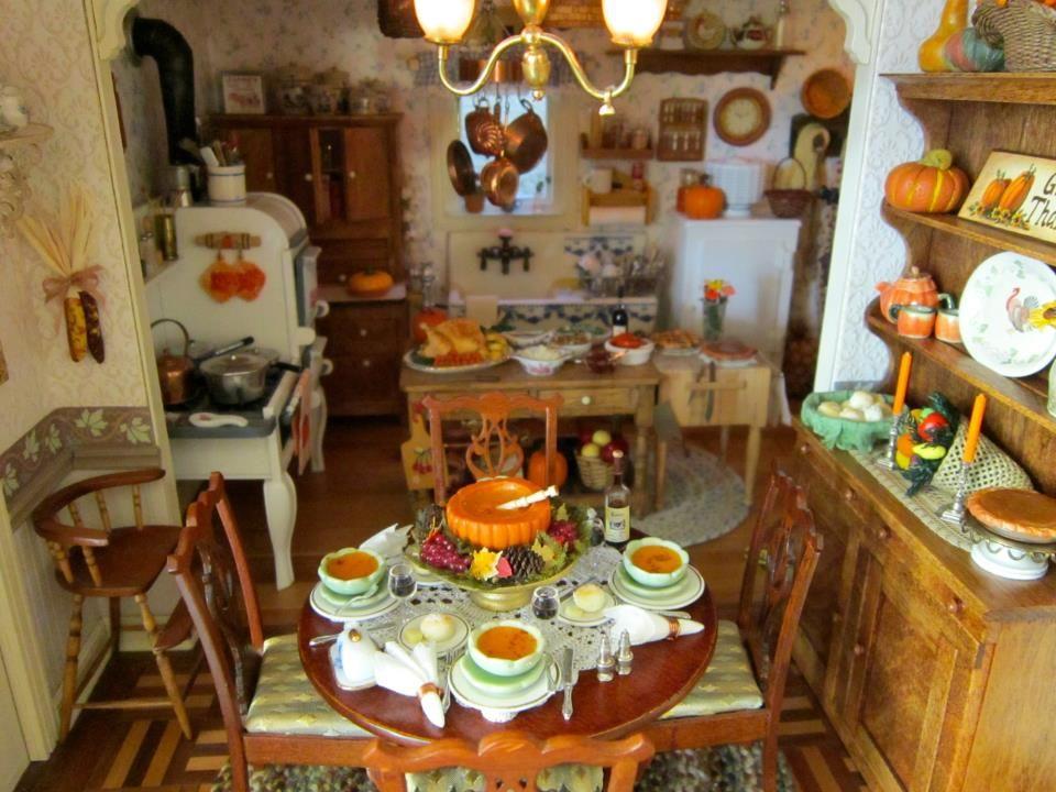 Ash Tree Cottage: Fabulous Dollhouse Tablescapes