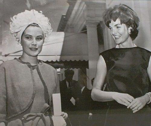 Grace Kelly & Jackie Kennedy