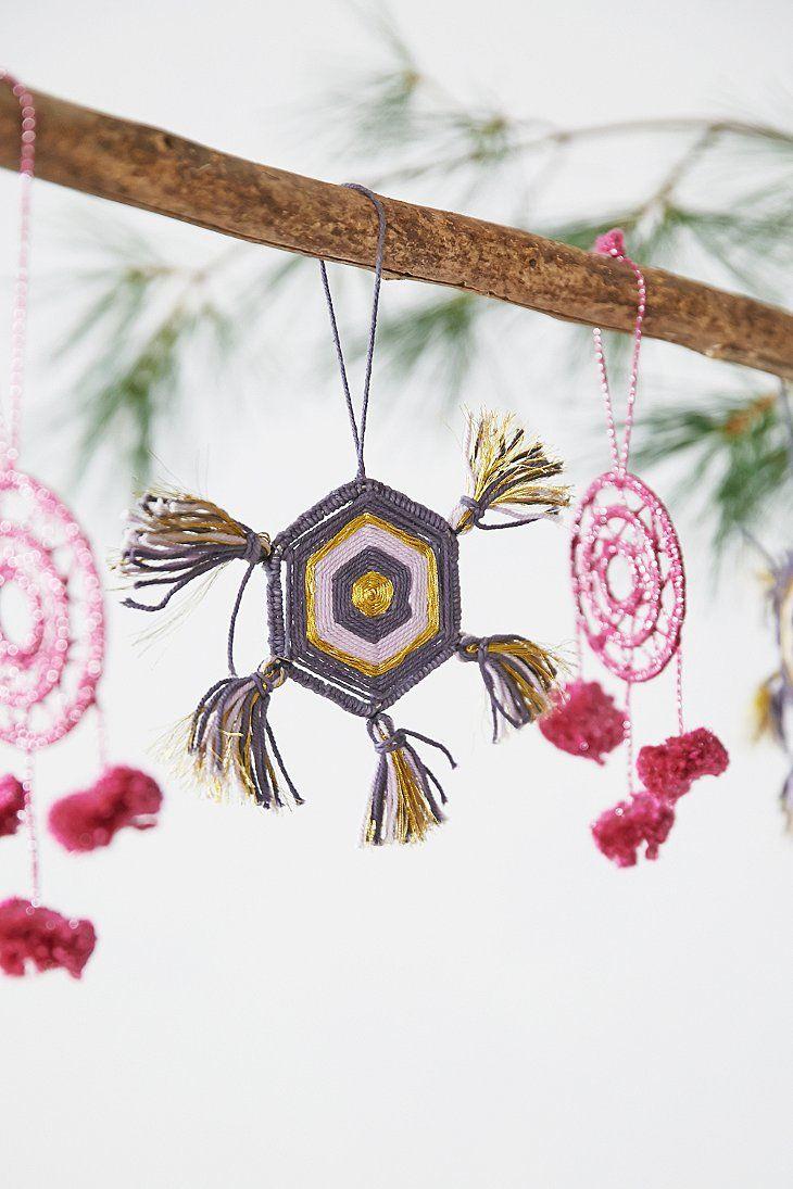 Geo Yarn Ornament