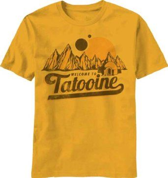 A souvenir shirt from tatooine.