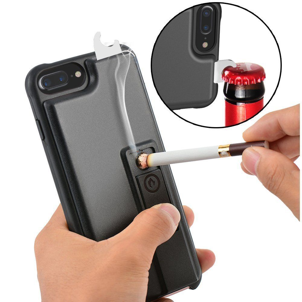 new style b917b 3f3ae iPhone 8 Plus Case, iPhone 7 Plus Case, ZVE Multifunctional Lighter ...