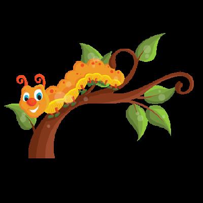 Caterpillar - Clip Art Online