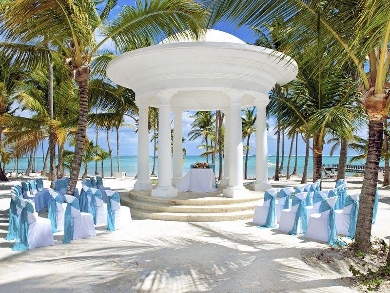 Wedding Venues Ocean Front Gazebo Barcelo Bavaro Beach Punta Cana