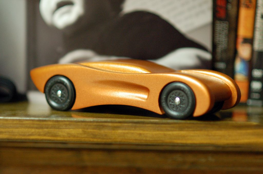 2008 Pinewood Derby Car Step 15 Wheels On And Aligned Derby