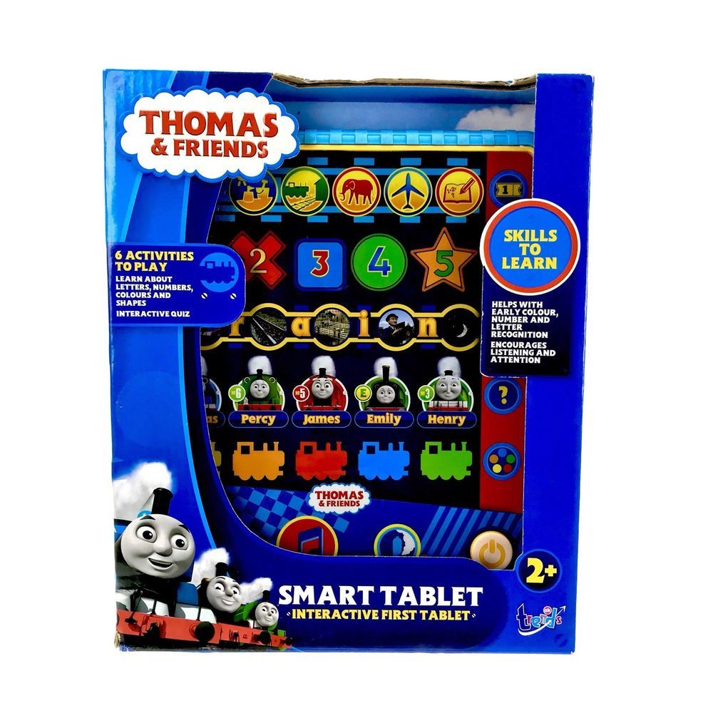 ALPHABET//COLOURS//SHAPES//NUMBERS THOMAS THE TANK ENGINE FIRST LEARNING SET