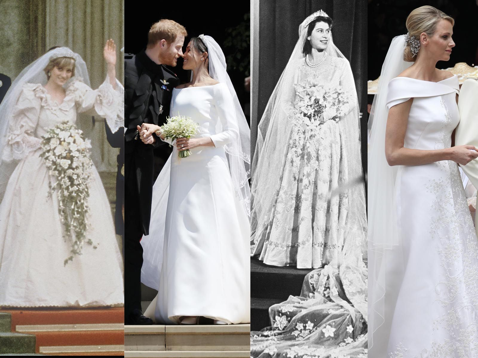 Photos Meghan Markle Grace Kelly Kate Middleton Lady Di