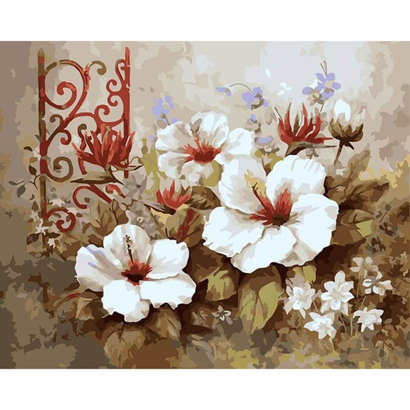 Malen Nach Zahlen Grosse Bluten Wie Man Blumen Malt Blumen