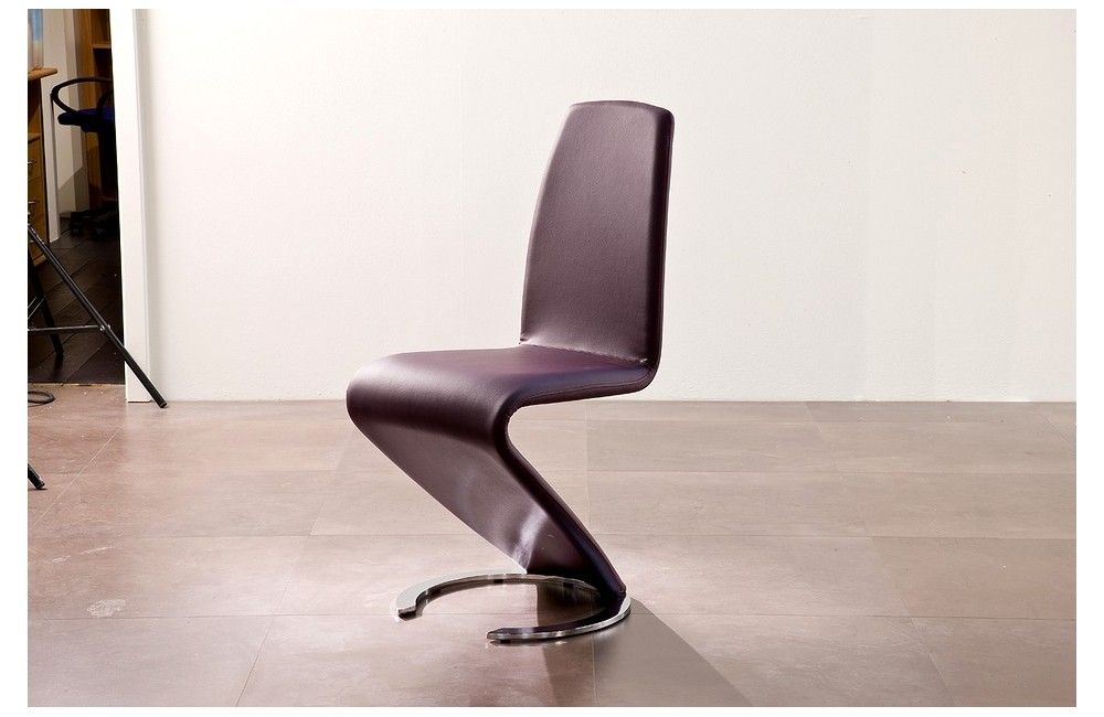 4 chaises design wave rouge ZIG ZAG WAVES Pinterest Bureaus - rangement salle a manger