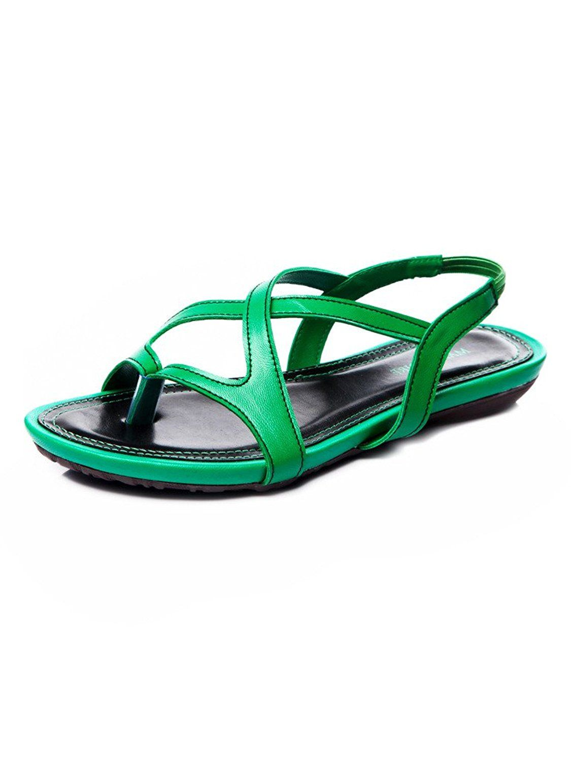 2ee35ff03c5 Marc Loire Women Green Primerose Flat Sandal    You can find out more  details at the link of the image.  shoes